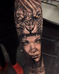 tattoos on chest for girls amazing and lion tattoo lions tattoo and girls