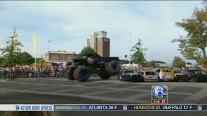 monster truck videos crashes monster truck crashes into crowd in netherlands 6abc com