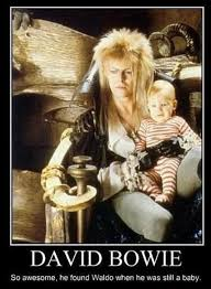 David Bowie Labyrinth Meme - waldo s baby years where s waldo where s wally know your meme