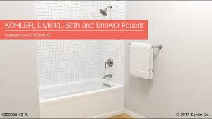 installation lilyfield bath and shower faucet youtube installation lilyfield bath and shower faucet