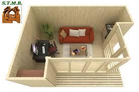 bureau modulaire interieur le bureau de jardin modulaire en bois stmb construction