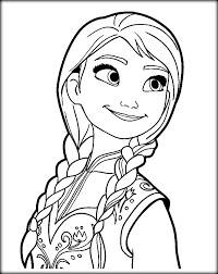 24 anna frozen coloring pages anna frozen movie