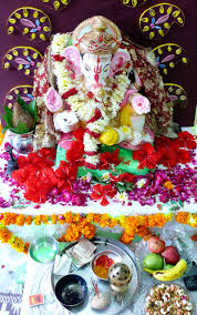 happy ganesh chaturthi ganpati bappa at our home by picturejockey