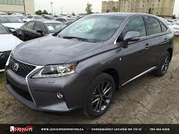 gray lexus rx 350 new grey 2015 lexus rx 350 awd f sport in depth review south