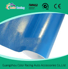 gold glitter car guarantee 3 years blue color gold glitter sanding film cast car