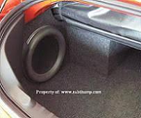 camaro speaker box 2011 2015 camaro convertible custom subwoofer enclosures by