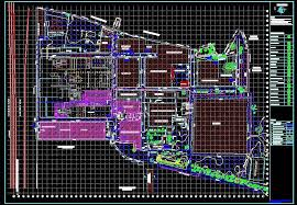 factory layout design autocad glass industry layout plan n design
