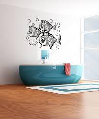 vinyl wall decal sticker sad fish os aa1095