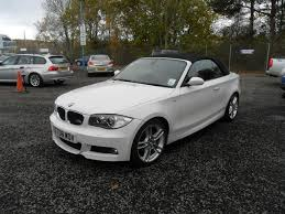 used bmw 1 series convertible used bmw 1 series 2008 petrol 118i m sport convertible white