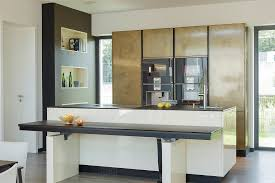 kchenfronten modern metal kitchen cabinets kitchen industrial with chrome bars