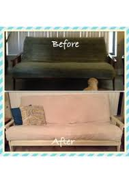 Seeking Futon Refinished Futon With Sloan Chalk Paint In White
