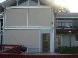 Roll Up Patio Screen by Retractable Sun Shades Vertical U2039 Screens 4 Less