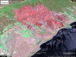 Fires In California Map Mapping The June 2016 Sherpa Fire In Santa Barbara County