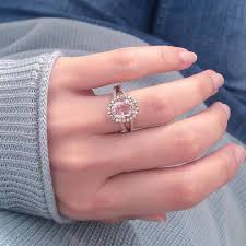 love rings pink images Morganite engagement rings popsugar love sex png
