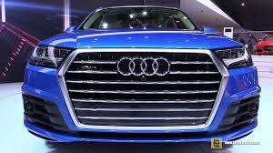 Audi Q7 2015 - 2016 audi q7 tfsi quattro s line exterior and interior