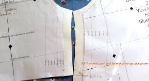 how to make the branson top into a dress part 2 reyna lay designs