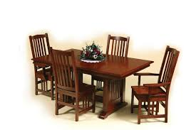 Amish Mission Dining Room Table - Mission dining room table
