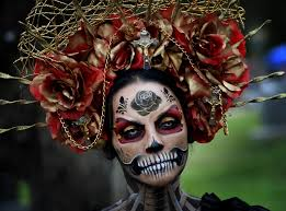 day of the dead costume mexico s day of the dead celebrations get an dose of