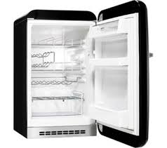 black friday mini fridge buy smeg fab10hrne mini fridge black free delivery currys
