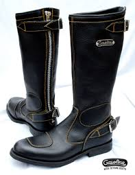 motorcycle boots harness gasolina boots