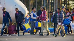 ikea syrian refugees sweden to refugees find a bed or go back to germany but don t look