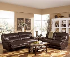 Ashley Furniture West Palm Beach by Exhilaration Chocolate Reclining Living Room Group By Signature