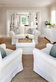 Twin Sleeper Sofa In Family Room Traditional With Monochromatic - Color schemes for family room