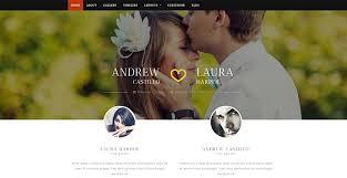 le site du mariage 10 thèmes pour site web de cérémonies de mariage 10