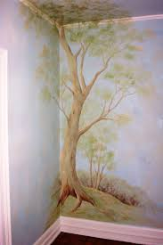 mural forest wallpaper beautiful themed wallpaper murals winter