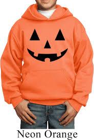 kids halloween hoodie black jack o lantern hoody black jack o