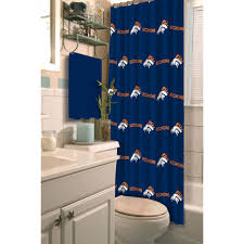 Nfl Shower Curtains Nfl Denver Broncos Shower Curtain Walmart Marvelous Broncos