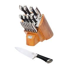 Hells Kitchen Knives by Amazon Com Chicago Cutlery Fusion Knife Block Set 1090390 18