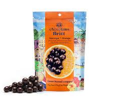 britt chocolates gourmet tropical fruit filled chocolates