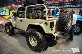 black jeep 2017 2017 sema black forest jeep tan j8 l