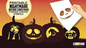 15 nightmare before christmas pumpkin carving patterns 1000