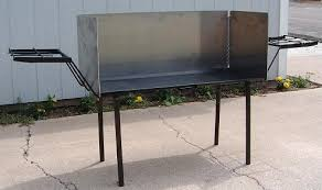 dutch oven cooking table dutch oven table shown here with two shelves and a wind screen big
