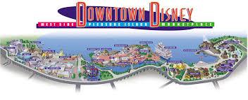 Orlando Attractions Map by Downtown Disney Orlando Map Adriftskateshop