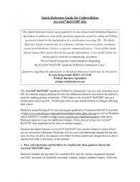 Medical Transcription Sample Cover Letter For Medical Billing Docoments Ojazlink