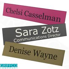 Personalized Desk Name Plates Desk Name Plates U2014 Griffco Supply