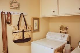 Retro Laundry Room Decor by Balanced Style My Humble Laundry Room