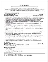 Emr Resume Sample by Medical Professional Resume Occupational Examples Samples Free