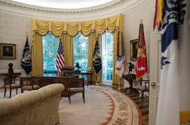 trump redesign oval office white house makeover eagles take flight the kansas city star