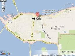 map of oregon house astoria warrenton gearhart tour pictures maps