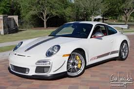 2011 porsche gt3 rs for sale 2011 white porsche 911 gt3 rs for sale houston tx dupont registry