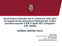 fluido bureau veritas non intrusive inspection per valutare lo stato di integrità di una
