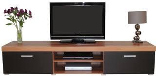 2 Door Tv Cabinet Metre Black Walnut Sydney 2 Door Tv Cabinet Large Unit