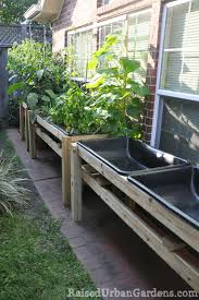 a raised garden for a friend small spaces work raised urban