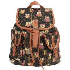 Owl Lovers by Angela Owl Travel Backpack U2013 The Owl Lovers