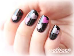 Black Manicure Designs Black Nail Designs Nailbees