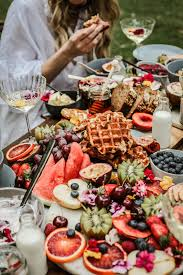 brunch table 5 tips on styling a grazing table hooray mag
